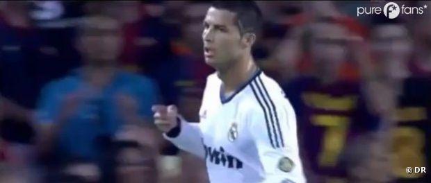 Cristiano Ronaldo a bien fait de se faire coiffer le V de la victoire sur le crâne : même si c'était un match nul, il a assuré !