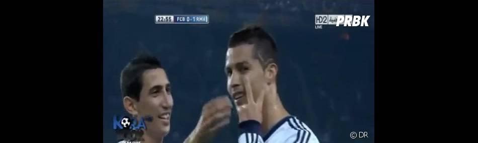Cristiano Ronaldo est fier de sa nouvelle coupe de cheveux !