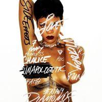 Rihanna (encore) complètement nue sur la pochette de Unapologetic ! Miam ! (PHOTOS)