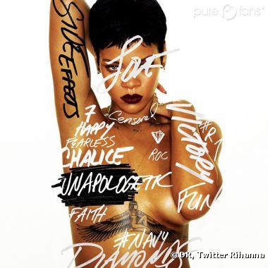 Rihanna dévoile la pochette de son dernier album !