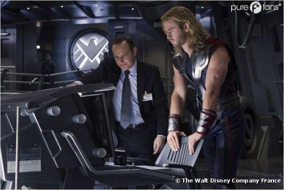L'Agent Coulson arrive dans S.H.I.E.L.D