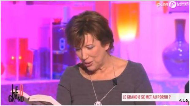Roselyne Bachelot en mode (lecture) porno