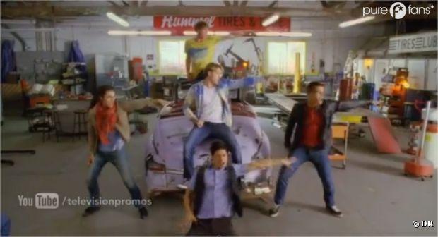 Glee se la joue Grease dans l'épisode 5 de la saison 4 !