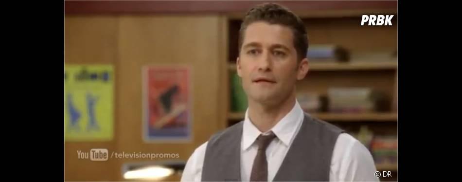M. Schue quitte le lycée !