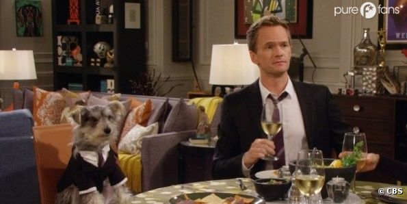 Barney et son nouveau co-pilote