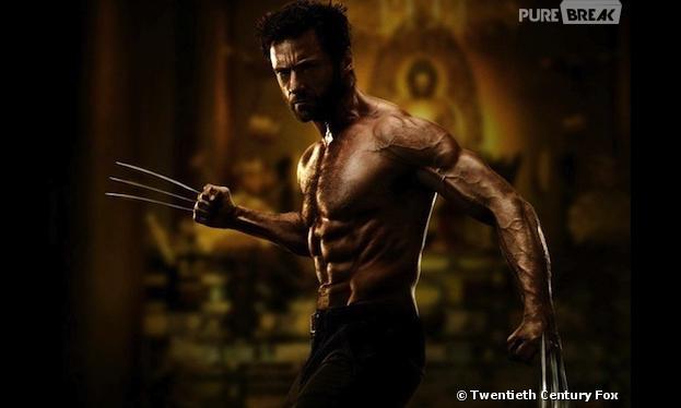 Hugh Jackman nous montre ses muscles sur la première image de The Wolverine !