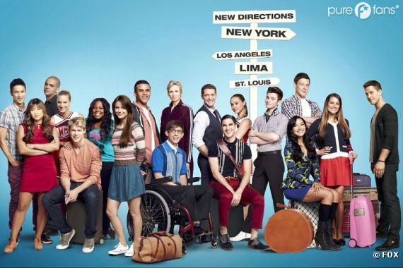 Une image de mariage qui nous fait un peu peur dans Glee !