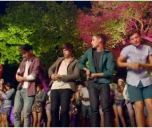 Les One Direction et leur choré dans le clip de Live While We're Young