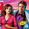 Castle et Kate en mode comics