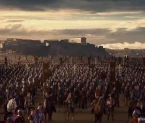 Les Romains sont prêts à combattre Spartacus