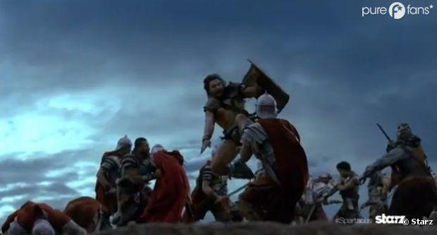 Grosse bataille en prévision dans Spartacus