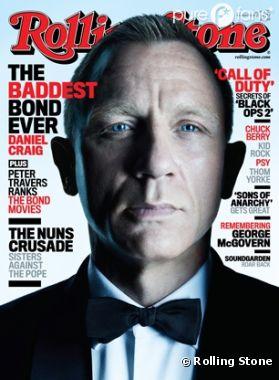 Daniel Craig se lâche dans Rolling Stone