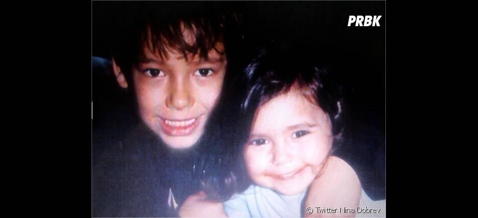 Nina Dobrev et son grand frère