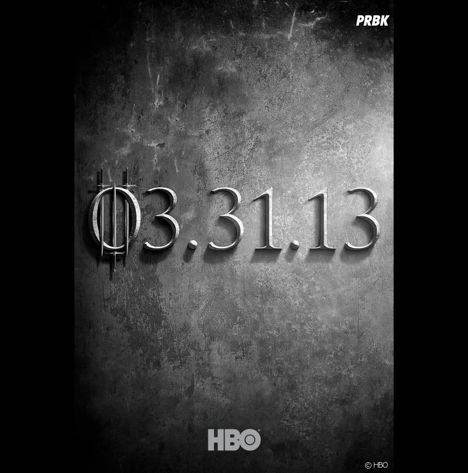 La saison 3 de Game of Thrones sera diffusée le 31 mars 2013