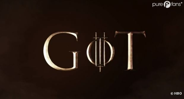 Le logo de la saison 3 de Game of Thrones