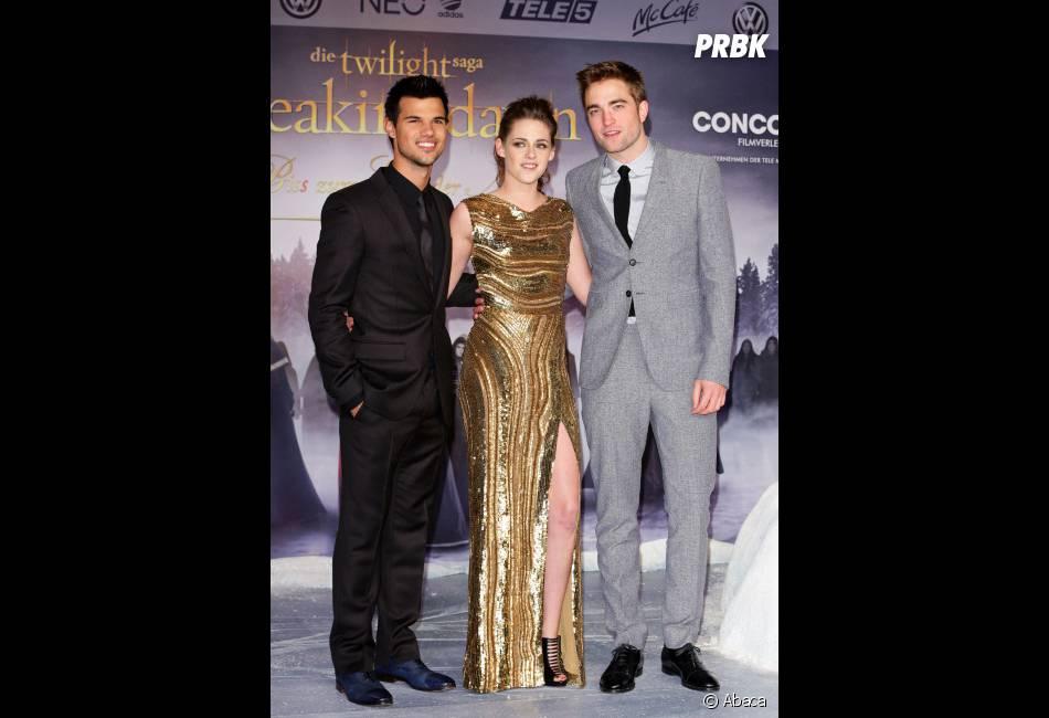 Robert Pattinson, Kristen Stewart et Taylor Lautner ont le sourire grâce à de tels scores