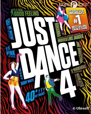 Just Dance 4 frappe fort !