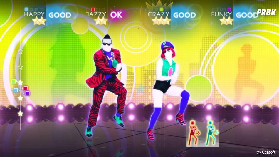 """Just Dance 4 vous propose d'apprendre la célèbre """"danse du cavalier"""""""