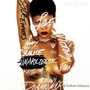 Rihanna a voulu cacher sa poitrine mais c'est loupé !