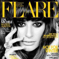Glee - Lea Michele en couv' de Flare : plus rien à voir avec Rachel !