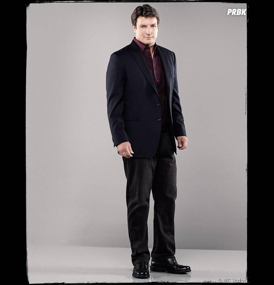 Nathan Fillion alias Castle !