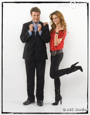 Castle et Beckett s'affichent pour ABC !
