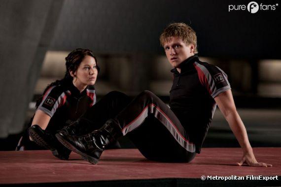 Jennifer Lawrence et Josh Hutcherson sont toujours en plein tournage pour Hunger Games 2