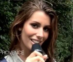Miss Provence était ravie d'avoir piqué une tête !