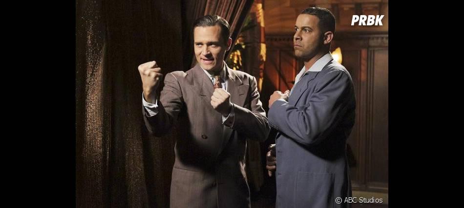 Les acteurs à la mode des années 40 dans Castle !