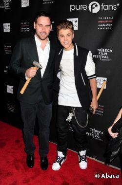Justin Bieber a été défendu par Scooter Braun