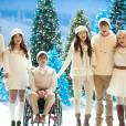 Ambiance Noël dans Glee !