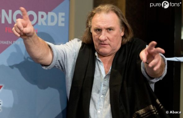 Gérard Depardieu est au coeur de l'actu