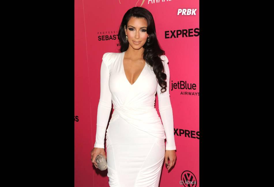 Kim Kardashian a présenté son chéri à sa famille !