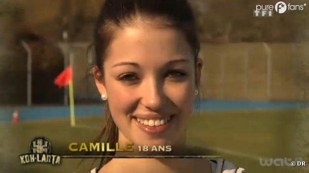 Camille regrette de ne pas avoir cherché le collier d'immunité !