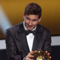 Messi Ballon d'or...mais pas look d'or !