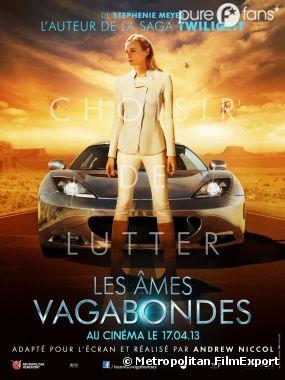 L'affiche exclu du film Les Ames Vagabondes avec Diane Kruger !