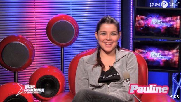Pauline a été éliminée de la Star Academy 2013 !