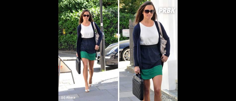 Pippa en mode robe