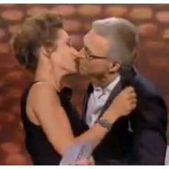 Victoires de la Musique 2013 : un kiss pour Laurent Ruquier et Virginie Guilhaume