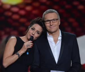 Laurent Ruquier et Virginie Guilhaume se sont embrassés aux Victoires de la Musique 2013