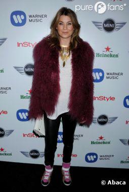 Ellen Pompeo était ignoble à l'after party des Grammy Awards 2013