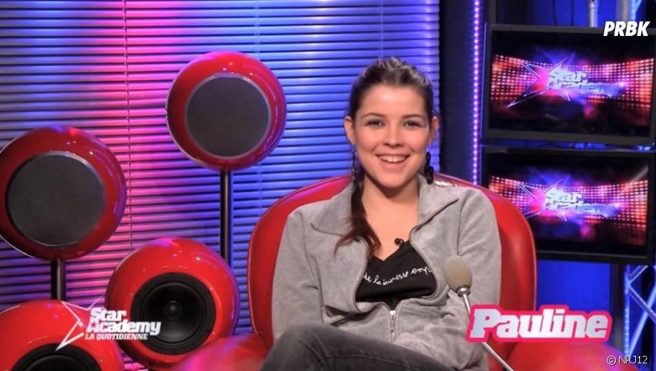 Pauline (Star Academy), amoureuse mais pas chanteuse