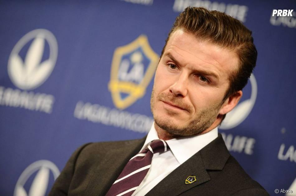 David Beckham, amoureux à distance