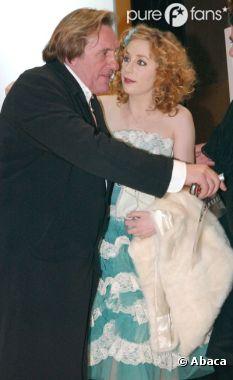 Julie Depardieu et son père