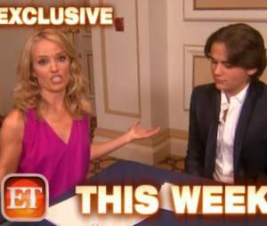 Le fils de Michael jackson, Prince Michael, fait ses débuts de journaliste pour Entertainement Tonight.