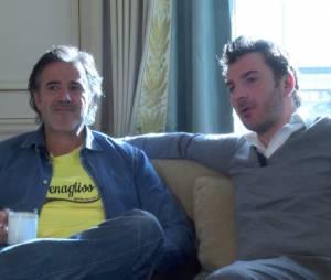 Michaël Youn et José Garcia en interview pour Vive la France