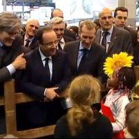 Salon de l'agriculture 2013 : Hollande fait le buzz sur Sarkozy