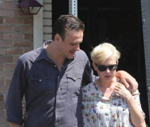 Jason Segel et Michelle Williams vivaient à plus de 4000 km l'un de l'autre.