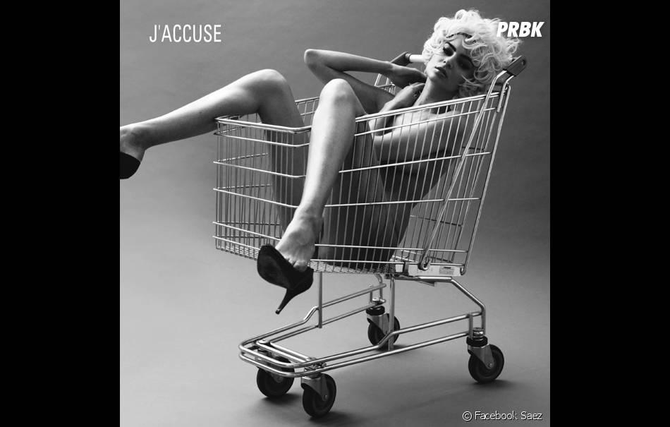 En 2010, la pochette de l'album J'accuse de Saez avait déjà fait polémique