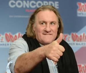 Gérard Depardieu joue le jeu des confidences.